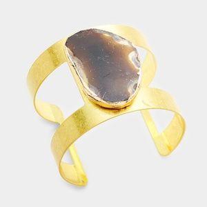 Cage Metal Cuff Bracelet